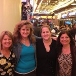 Josee with Lauri and sister and Linda B in Vegas