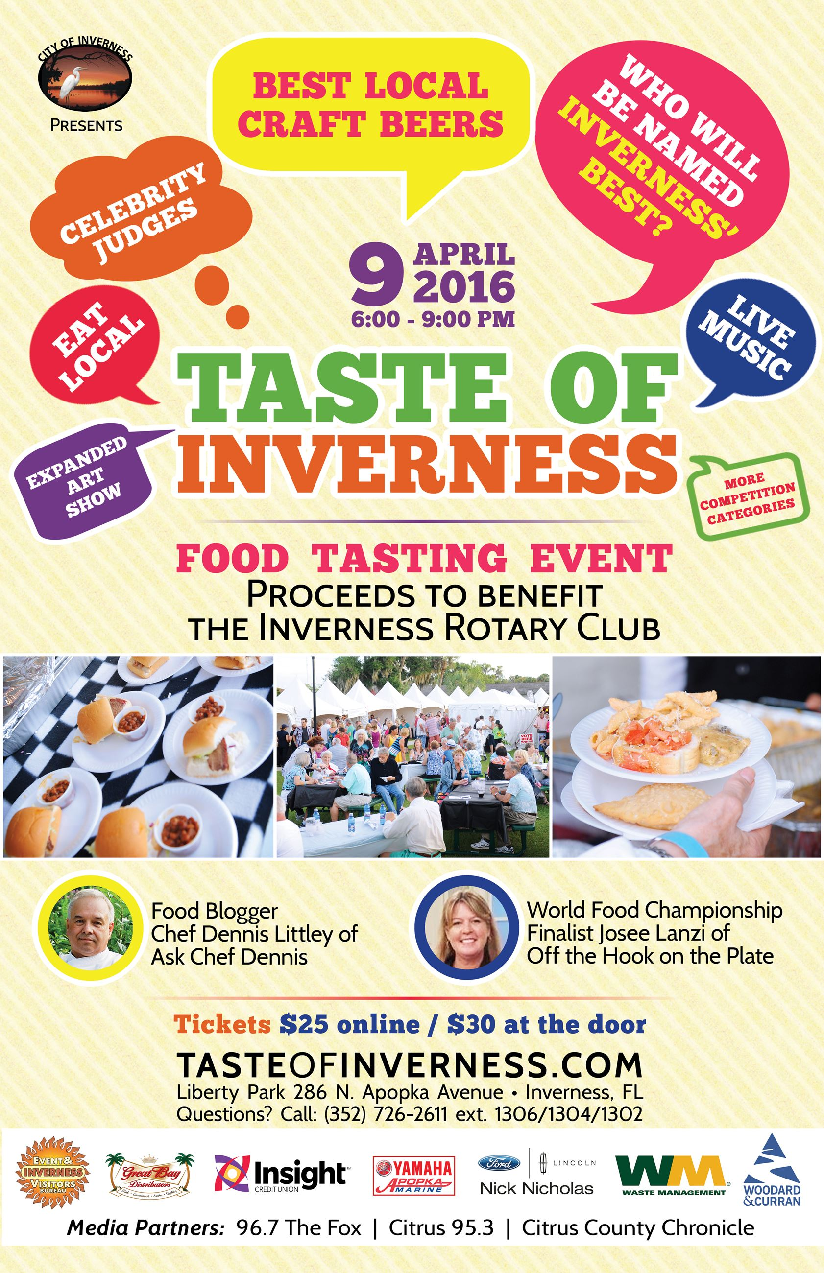 Taste of Inverness